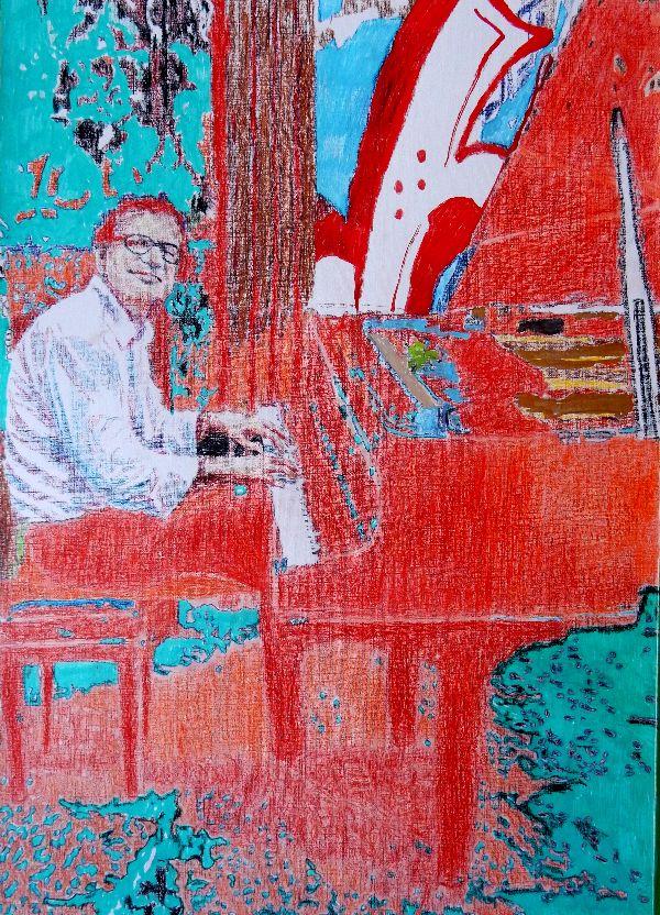 Paolo Zanarella il pianista fuori posto drawing
