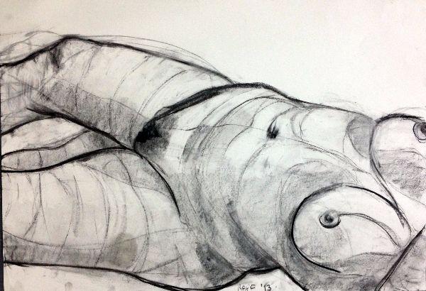 Raff life drawing