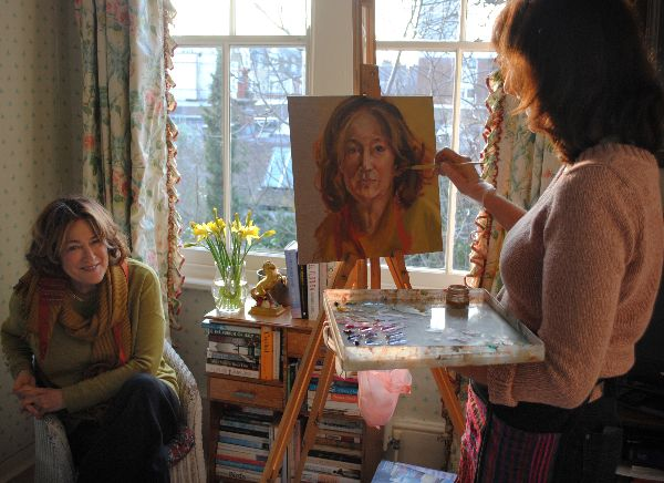 Stella Tooth painting study Geraldine Sharpe-Newton
