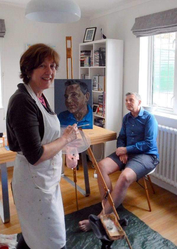 Stella painting Martin Le Jeune 2016