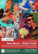 Half Moon Putney Resident Artist exhibition poster MAR2018