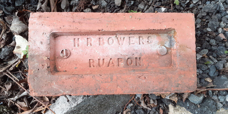 HR Bowers Ruabon Brick.