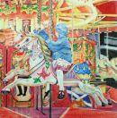 Carousel - Coloured Pencil