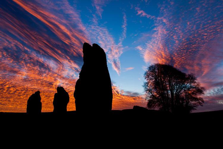 Avebury Winter sunrise