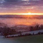 Sunrise Eastwick Farm Pewsey Vale