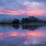 sunrise Esthwaite Water Cumbria