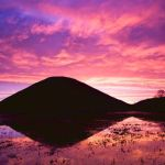 Winter sunrise Silbury Hill