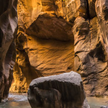 The Narrows Zion Utah USA