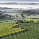 Pewsey Vale Spring Mist