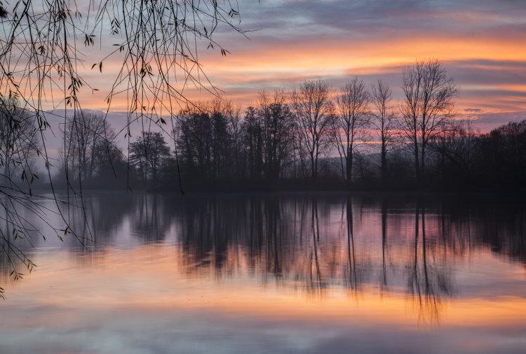 Langford Lakes Sunrise
