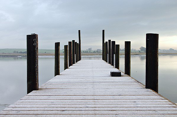 Jetty on the River Wyre
