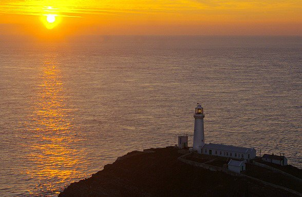 South Stack at Sunset