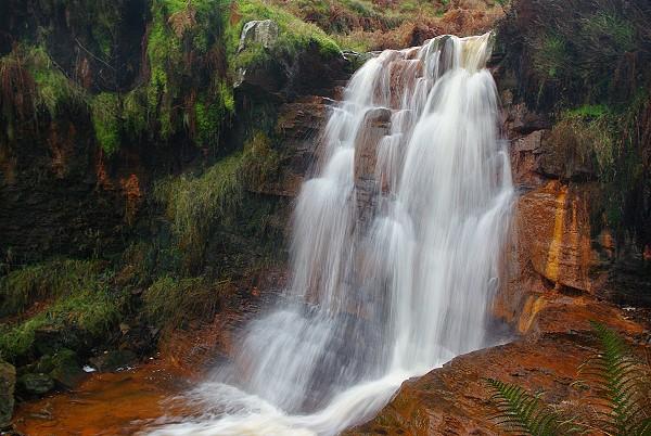 Waterfall at Beater Clough