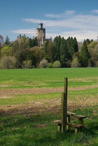 Hornby Castle (tradesman's entrance!)