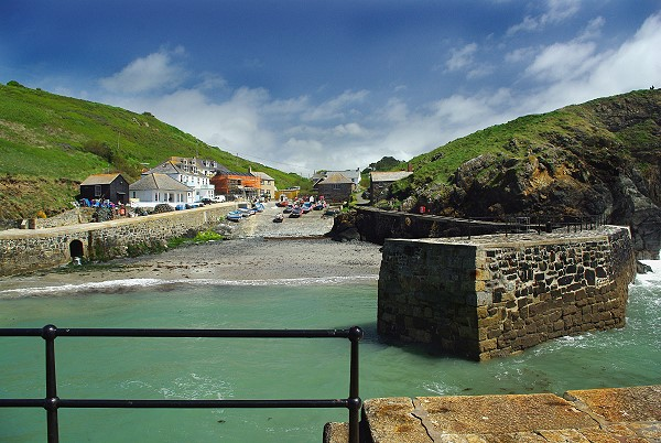 Mullion Cove, the harbour