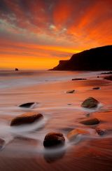 Saltwick Bay - Sunrise