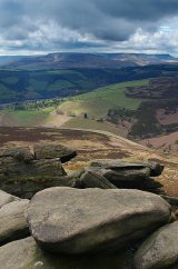 View from Dovestone Tor