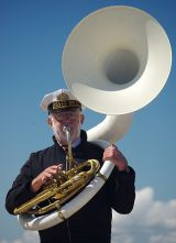 Blowing my own Sousaphone!