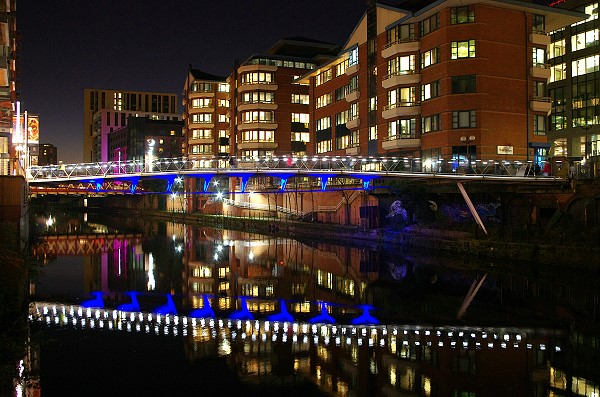 The Irwell Footbridge