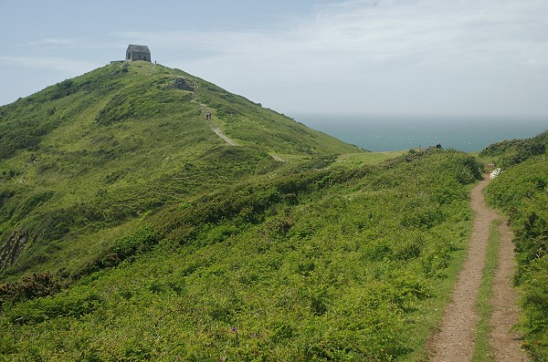 View towards Rame Head
