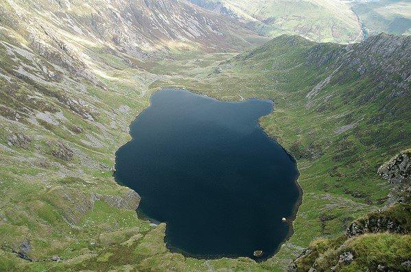 Llyn Cau, Aerial View (almost)