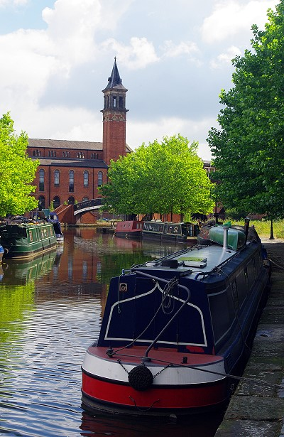 The Rochdale Canal, Manchester