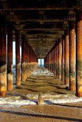 Under Southwold Pier