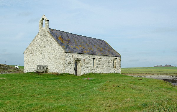 St Cwyfan's Church, Church-in-the-sea