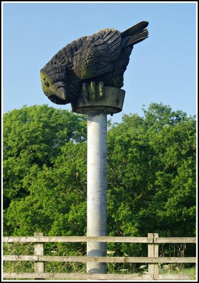Black Crow Sculpture