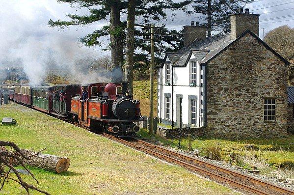 Narrow Guage Steam Train