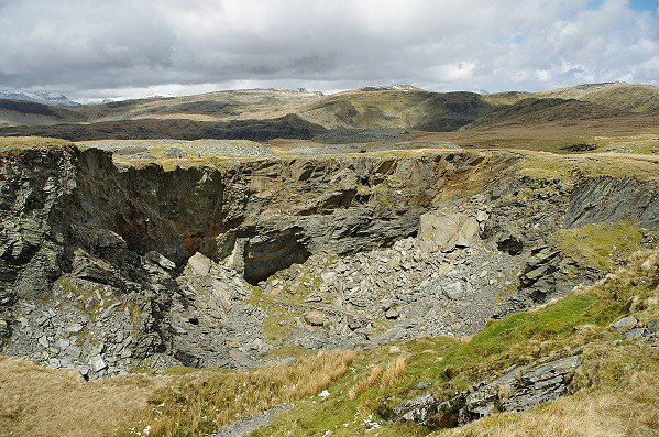 The West Twll - Oldest part of the Quarry