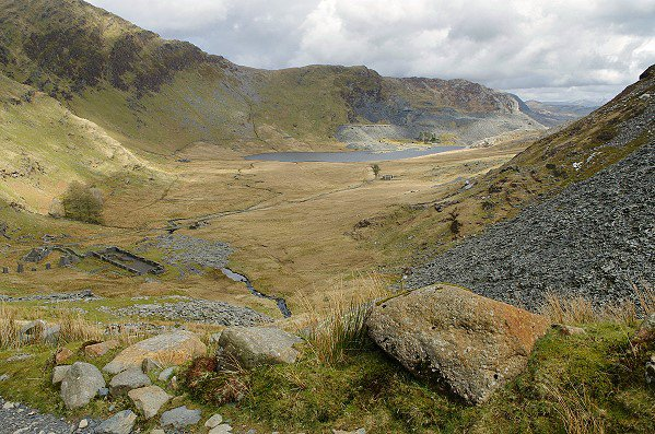 The Valley of Cwmorthin
