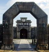 Entrance to Dartmoor Prison