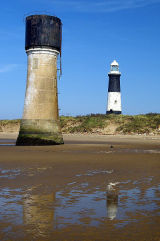 Spurn Head Lighthouses