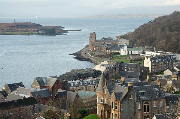 View from Mc Caig's Tower