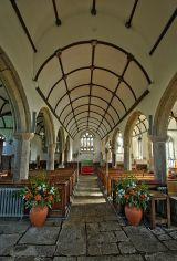Inside St Pancras Church