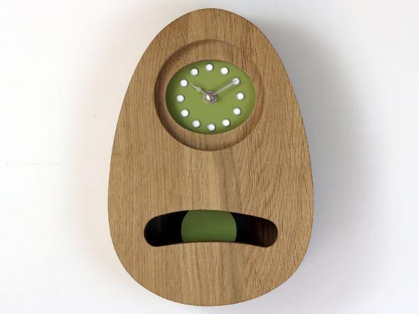 Wall Pendulum clock (rebated face)