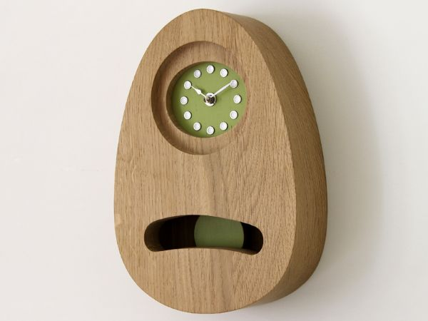 Wall Pendulum clock (rebated face)