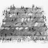 Pool study. 2014, 56x85cm, ink on paper.