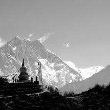 Everest and Ama Dablam, Nepal Himalayas