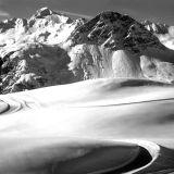 Grande Motte, vue de l'Ouillette, Val d'Isere