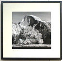 Tree and Half Dome, Yosemite, framed in black ash.