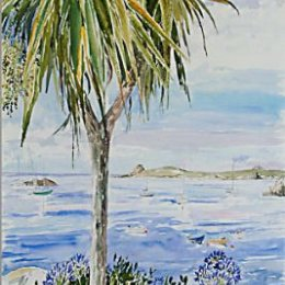 """""""A Morning in Porthcressa"""", St Marys, Isles of Scilly"""