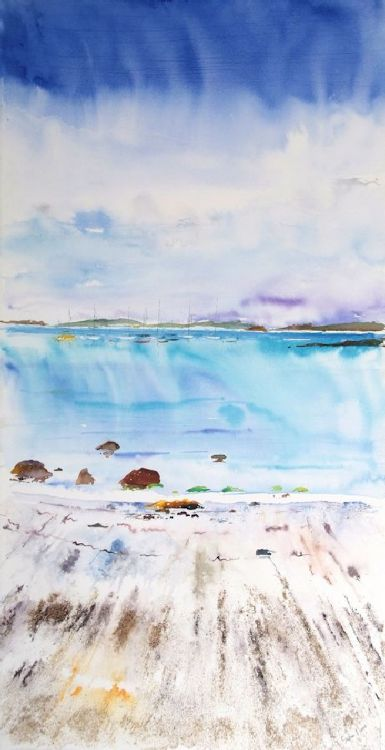 """Inky Sands"", Porthmellon, S tMarys, Isles of Scilly"