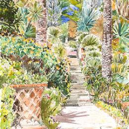 Neptune Steps, Tresco Abbey Gardens, Isles of Scilly