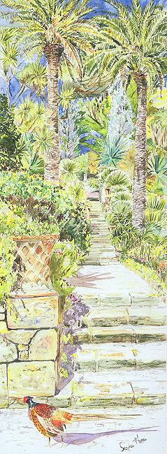 """Neptune Steps, Abbey Gardens"" Tresco, Isles of Scilly"