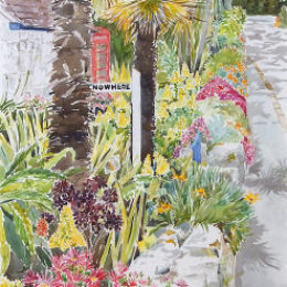 """""""The Wall at Nowhere"""" Old Town, St Marys, Isles of Scilly"""