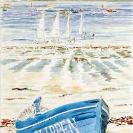 """Slippen on the Sand"", Porthmellon Beach, St Marys, Isles of Scilly"