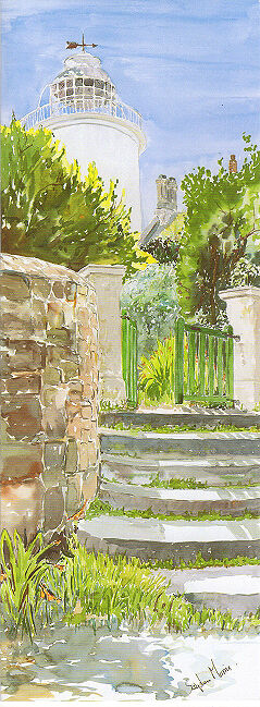 """""""Steps to Chimneys, St Agnes, Isles of Scilly"""
