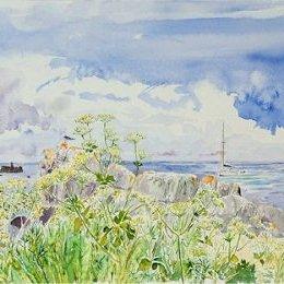 """The 'Saint Ildut' in Porthcressa Bay"", St Marys, Isles of Scilly"